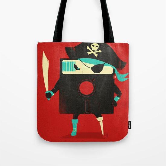 Software Pirate Tote Bag