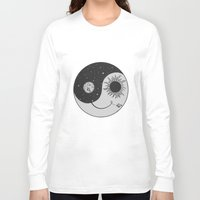 moonrise Long Sleeve T-shirts featuring Moonrise by Daniac Design