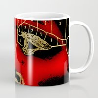 hannibal Mugs featuring Hannibal by Fan Prints
