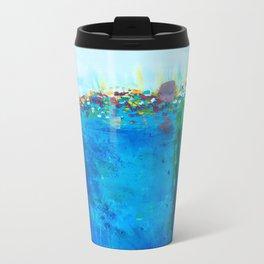 Ocean Sun Metal Travel Mug