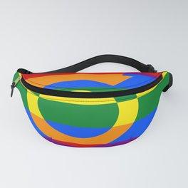 Gay Pride Rainbow Flag Boy Man Gender Male Fanny Pack