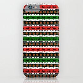 Greyt Greyhound Christmas  iPhone Case