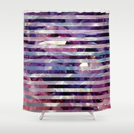 Wet and Pastel Shower Curtain
