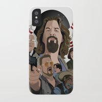 the big lebowski iPhone & iPod Cases featuring The Big Lebowski by Chad Trutt
