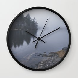 I love the rain Wall Clock