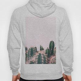 Pink Blush Cactus Hoody