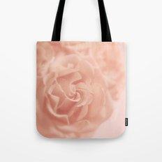 Pink Rose Softness Tote Bag