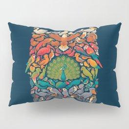 Aerial Spectrum : Blue Pillow Sham