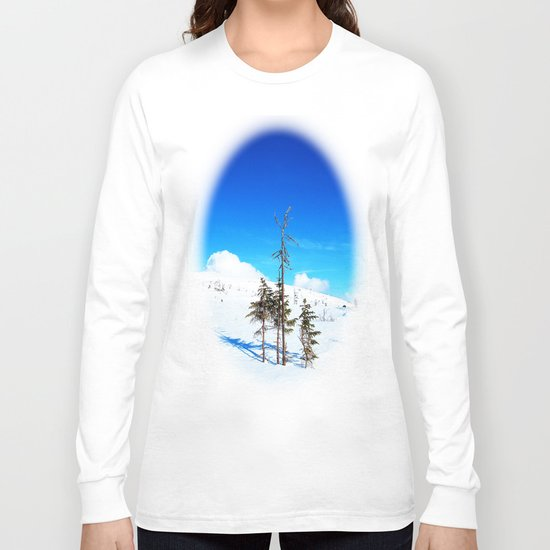 Still winter  (easter in Norway 2013) Long Sleeve T-shirt