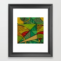 Tropical Farm Framed Art Print