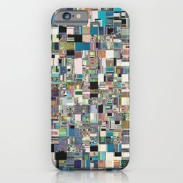 Geometric Jumble iPhone Case
