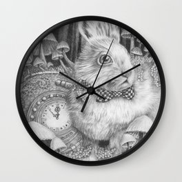 Always Late to the Party Wall Clock