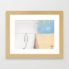 Had a dream lately? Framed Art Print
