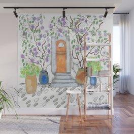fairy door Wall Mural