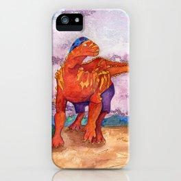 Beach Ball Dinosaur - Barney iPhone Case