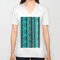 road V-neck T-shirts featuring Road by JuniqueStudio