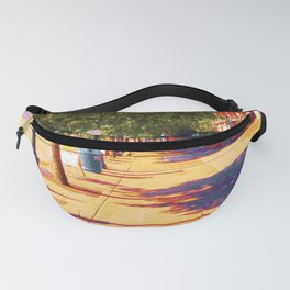 Walking to King Street Station, Five-O-Nine PM Fanny Pack