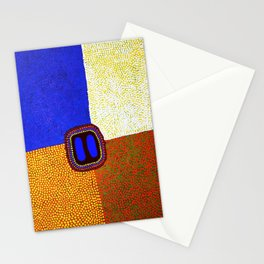 Squares Straight Stationery Cards
