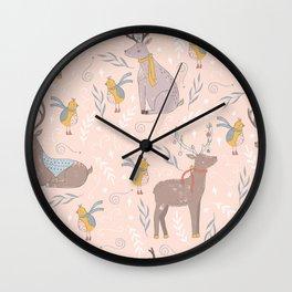 deers Wall Clock