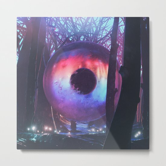 FOREST ZYGOTE (3.24.16) Metal Print
