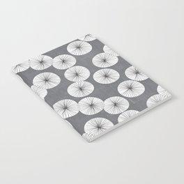 Umbrellas by Friztin Notebook