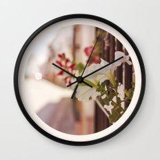 En la ventana Wall Clock