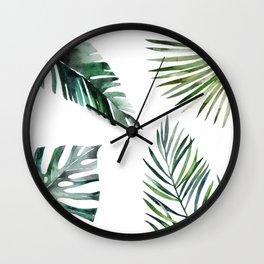 Simply botanic Wall Clock