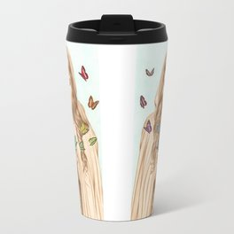 The Butterfly Girl Travel Mug