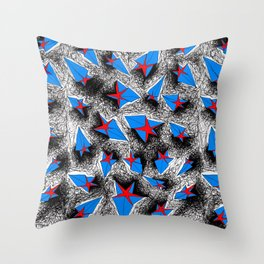 Starman Throw Pillow