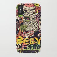 Belly of the beast iPhone X Slim Case