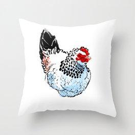 Houdan - Chicken Throw Pillow