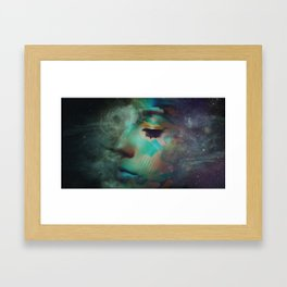 Electric Lady  Framed Art Print