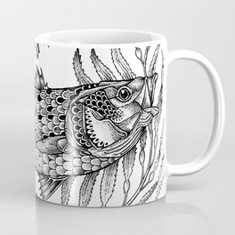 Striper in the Weeds Ink Coffee Mug