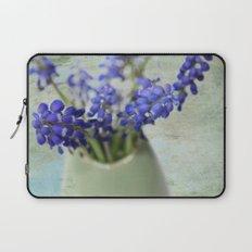 Grape Hyacinths Laptop Sleeve