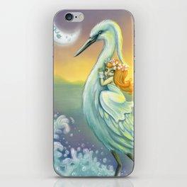 egretta garzetta iPhone Skin