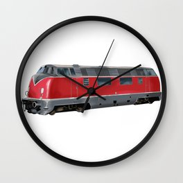 Train Trains Railroad Railway Locomotive Gift Wall Clock
