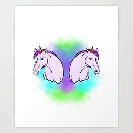 Unicorn Appreciation Art Print