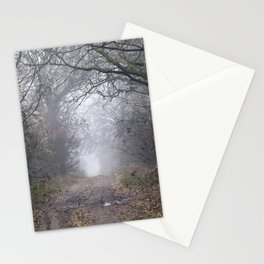 dirt and traces of car Stationery Cards