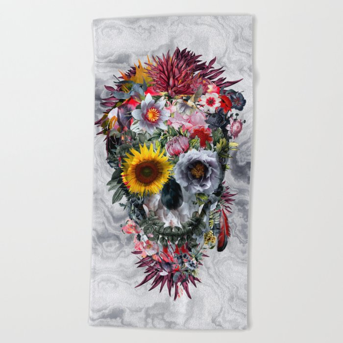 Voodoo Skull Beach Towel
