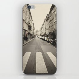 The streets of Paris, France iPhone Skin