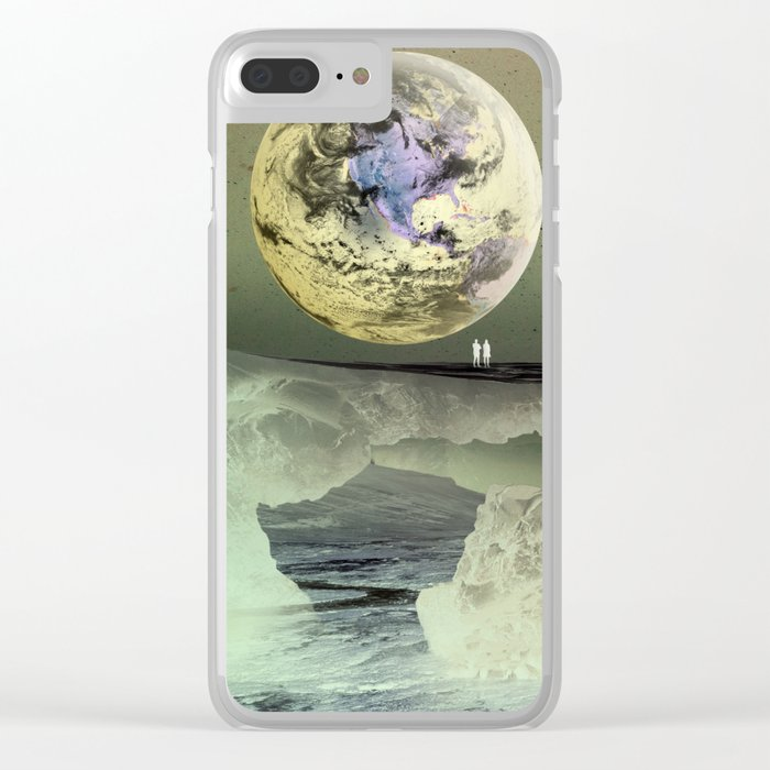 What Will Our Next Planet Look Like? Clear iPhone Case