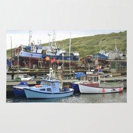 Fishing Harbor Rug