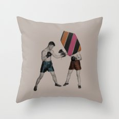 Mixed Martial Art Throw Pillow