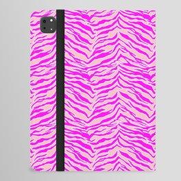 Tiger Print - Pink & Pink iPad Folio Case