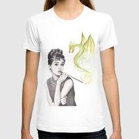 audrey hepburn T-shirts featuring Audrey Hepburn  by Olechka
