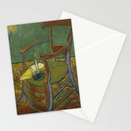 Vincent Van Gogh - Gauguin's chair Stationery Cards