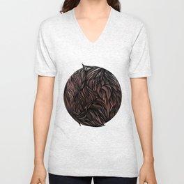 Fur Ball Unisex V-Neck
