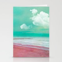 silent Stationery Cards featuring SILENT BEACH by VIAINA
