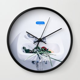 i loved you - LANY Wall Clock