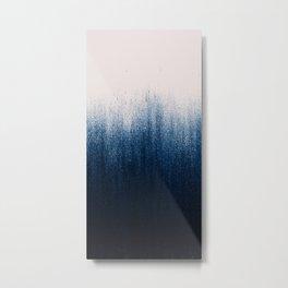 Jean Ombré Metal Print